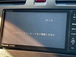 Panasonic製SDナビ搭載です!