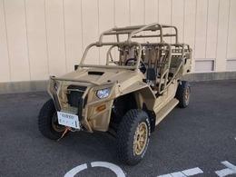 輸入車その他 ポラリスMRZR4 米軍制式採用車両 左ハンドル AWD CVT デフロック ウインチ ロールケージ 4点ベルト 高速道走行可