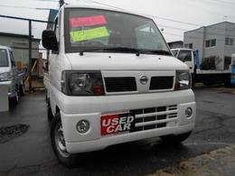 日産 クリッパートラック 660 DX 農繁仕様 エアコン付 4WD