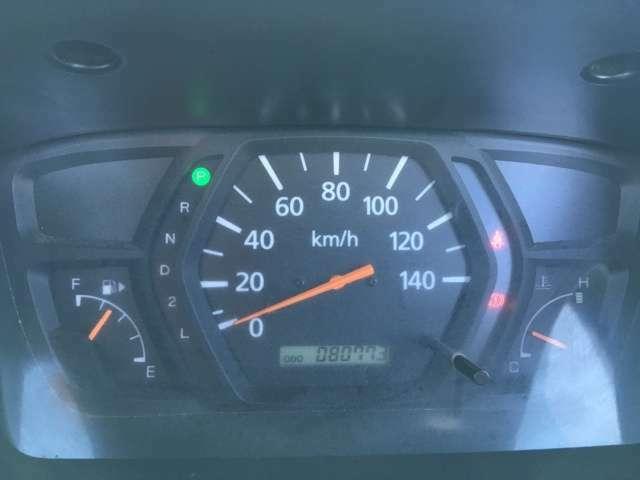 走行距離は80773kmです。まだまだ乗れます!! ※走行距離は撮影時のものです。