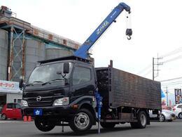 日野自動車 デュトロ タダノ3段クレーン ラジコン 鉄箱仕様 箱内寸440×199×118 積載2トン