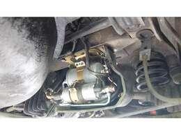 燃料ポンプ、フィルター、ホース等と燃料タンク新品交換しております。