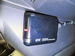こちらのベリーサにはETCも付いています。インターチェンジもスイスイです。ETCカードの準備も忘れずに。
