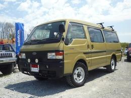 マツダ ボンゴブローニイバン 2.5 DX 低床 ロング ディーゼル 4WD フォードエコノバン仕様セミキャンパー