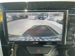 駐車の際の強い味方【バックカメラ】です♪