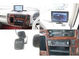 ポータブルナビ 地デジワンセグ ETC ドライブレコーダー 常時バックカメラ(専用モニター) USBデッキ