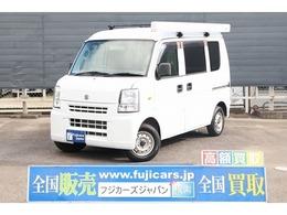 スズキ エブリイ キャンピング オリジナルキャンパー 4WD 新品FFヒータ- 新品ベッドキット