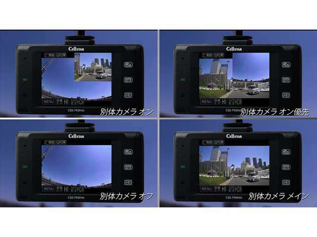 Bプラン画像:画面表示は4種類から選択できます☆