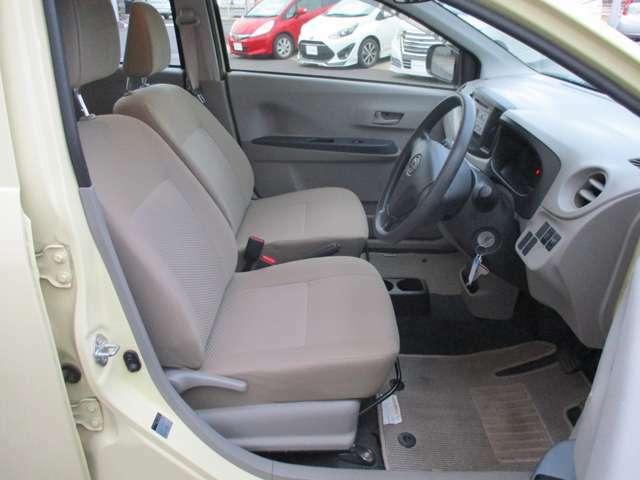 運転席・助手席シートの状態も良好です。