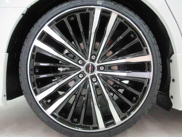 新品AME 75モノブロック20インチアルミ&新品タイヤ付き!各メーカーのお好みの20インチ・21インチ・22インチのアルミホイールもチョイス可能!ローダウンや車高調などもお取り扱いしております♪