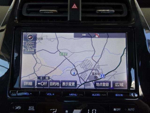 ドライブやレジャーのマストアイテム!快適なドライブをサポートする純正Tコネクトナビ&フルセグTV装着!