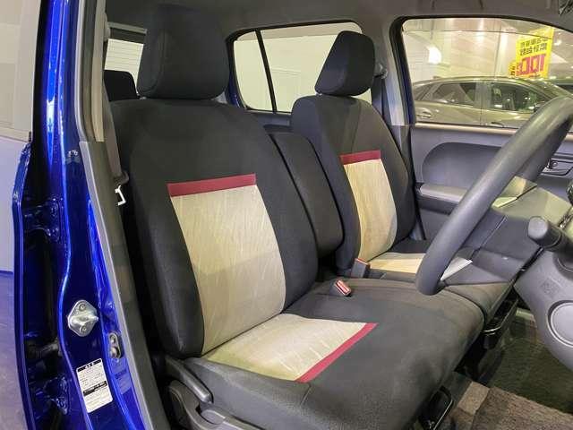 【 フロントシート 】使えるフロントシートで快適ドライブ♪