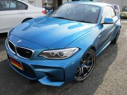 BMW M2クーペ M DCT ドライブロジック ワンオーナー BBS20AW