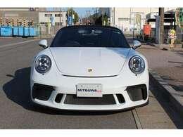 2018年6月にコンセプトモデルが発表されるやマニアの注目を集めた「911スピードスター」。市販型は2019年4月のニューヨークモーターショーでデビュー!