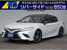 トヨタ カムリ 2.5 WS レザーパッケージ JBLナビサンルーフレザーシート
