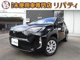 トヨタ ヤリスクロス 1.5 X 登録済未使用車 禁煙車 衝突軽減ブレーキ