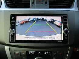 バックカメラ付き☆バックする際に後方の様子をカーナビに表示してくれます!運転席にいながら、後方確認が出来るので、バック駐車がスムーズに行えます◎