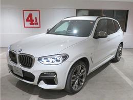 BMW X3 M40d ディーゼルターボ 4WD イノベーションリアシートアジャストメント