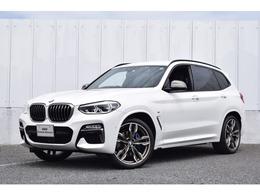 BMW X3 M40d ディーゼルターボ 4WD 1オナ 茶革 ACC 21インチ 全周囲カメラ SOS