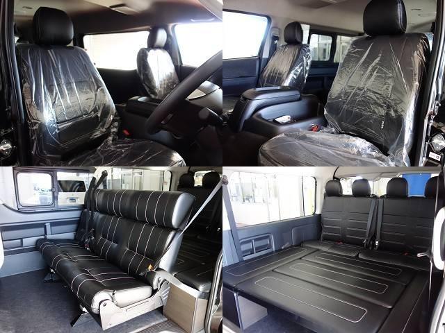 セカンドシートは反転アレンジが可能です!対面座席で大人数でワイワイ出来るラウンジ風に♪