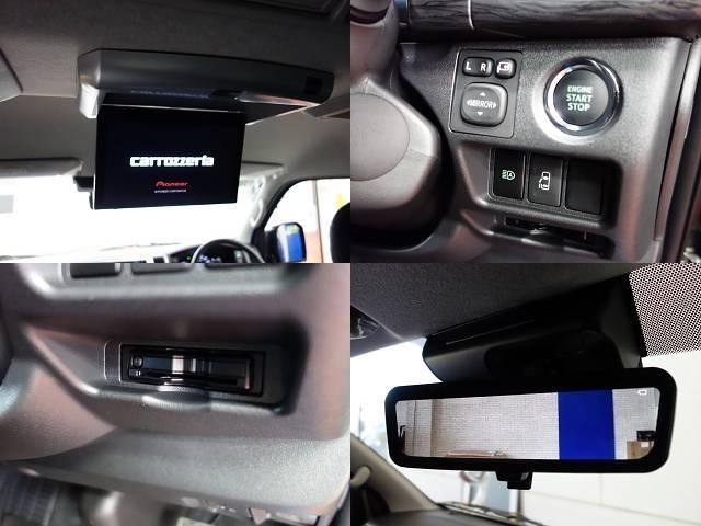 デジタルインナーミラー搭載車両なので、悪天候や乗車人数が多くても後方確認が可能です!