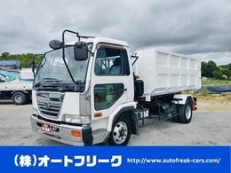 UDトラックス コンドル 4トン アームロール Wシリンダー 新品箱付 新明和 ターボ 着脱式コンテナ