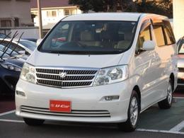 トヨタ アルファード 2.4 V AX トレゾア・アルカンターラバージョン 4WD DVDナビ/バックモニター/3列シート/ETC