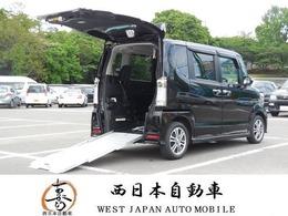 ホンダ N-BOX+ 660 カスタムG 車いす仕様車 スローパー ナビ TV