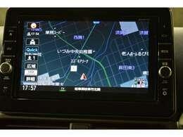【ディーラーオプション】9型メモリーナビ(DVD/CD再生機能・Bluetooth対応(音楽再生/ハンズフリー通話)・SDカード再生・フルセグテレビ)