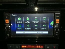 【純正メモリーナビ(MC314D-W)】CD/DVD再生機能/フルセグTV/Bluetooth/AUX入力端子