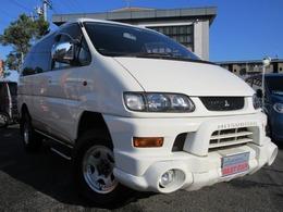 三菱 デリカスペースギア 3.0 シャモニー ハイルーフ 4WD YouTube動画 車検整備付 7人乗
