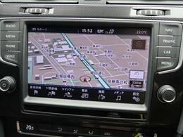 ●VW純正ナビ:高級感のある車内を演出させるナビです!Discover Proの8インチディスプレイを採用しております!