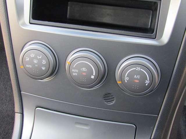 エアコン:指定温度に自動調整!快適なオートエアコン!