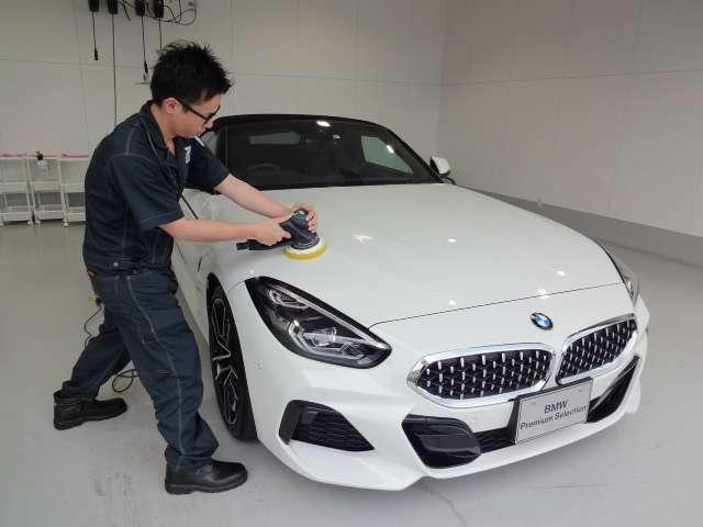 Bプラン画像:BMW車両に最適なコーティングを施工致します。