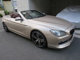 BMW 6シリーズカブリオレ 650i シャンパンゴールド 黒幌