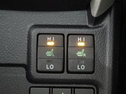 運転席・助手席にはシートヒーターを装備しています。
