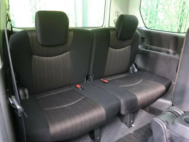 ●サードシートもしっかりとした造りになっております☆大勢でのお出かけにもバッチリ対応いたします♪