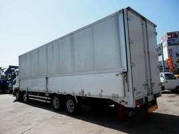H18 三菱 大型 アルミウイング 積載13400kg 走行854000km ボディパブコ 内寸長さ9600 幅2380 高さ2610