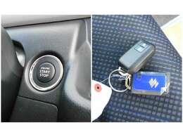プッシュスタートなので鍵をかばんやポケットに入れたままでも、ボタン1つでエンジンがかけれます!