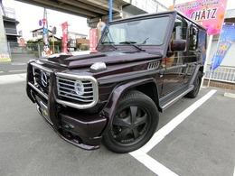 メルセデス・ベンツ Gクラス G500 ロング 4WD 4WD左H SR黒革