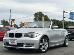 BMW 1シリーズカブリオレ 120i Mスポーツパッケージ 電動オープン Bカメラ 地TV ETC Pシート