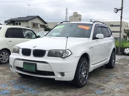 BMW X3 2.5i 4WD ETC・アルミホイール・キーレス・CD