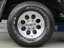 ミッキートンプソンクラシックIII16インチAWにブリジストンATタイヤの組み合わせ!