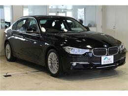 BMW 3シリーズ 320i xドライブ ラグジュアリー 4WD 黒革BカメラETC純正17AW純正ナビ