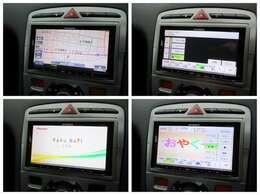 社外ナビが装備されております♪画面もクリアで運転中も確認しやすいです♪フルセグTVとDVDの視聴もお楽しみ頂けます♪Bluetooth接続も可能ですのでお好きな音楽を聴きながらドライブして下さい♪
