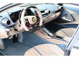 内装はTortoraにCarta da Zucchero珍しいの組み合わせです。