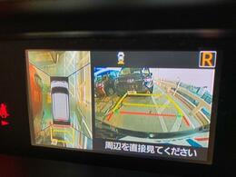 アラウンドビューモニターを装備!【駐車の際、画面に車を真上から捉えた映像が映ります。駐車の際にとても便利な装備です♪】