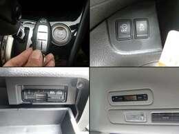 便利なキーフリー&プッシュスタート♪両側電動スライドドアに低燃費アイドリングストップ登載車です♪ETCやリアエアコンも装備しています(>。<)♪