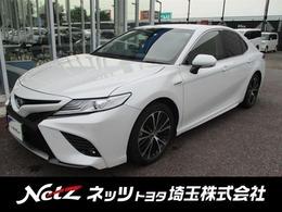 トヨタ カムリ 2.5 WS レザーパッケージ 純正JBLナビ・エアロパーツ・衝突軽減B