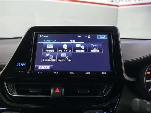 ナビがWi-Fi通信で繋がる事でナビで渋滞を考慮したルート等を表示、スマホのようにアプリをインストールしナビ上で使用したり快適なサービスをご提供。契約事務手数料330円(※お手持ちの通信機器で接続)
